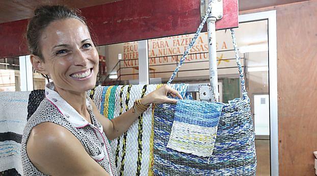 Manuela Ganga, directora da fábrica adianta que o espaço foi construído para garantir aos jovens condições para realizar os seus sonhos