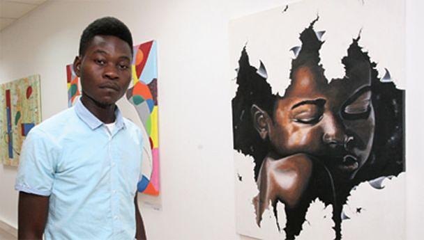 Estudante do Complexo de Escolas de Artes (CEARTE) realiza a primeira exposição individual na Galeria Tamar Golan