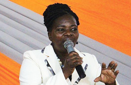 Chefe de departamento da promoção do Minfamu, Evalina Tcheia, considerou a conferência um espaço de aprendizado