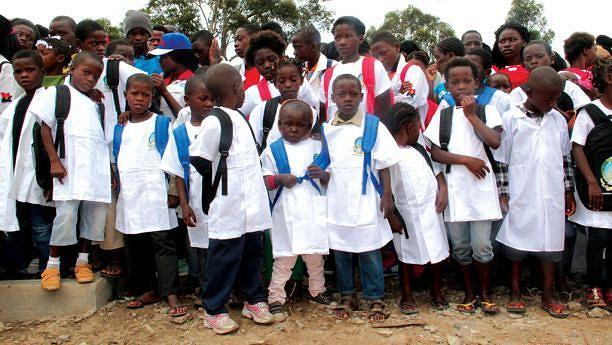 Desafio do governo provincial é construir mais escolas e absorver o universo de crianças do Cunhinga