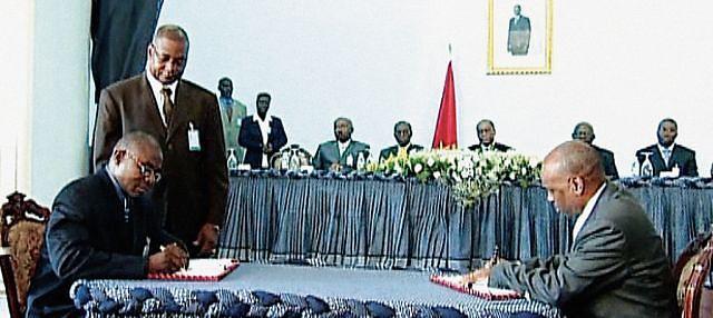 Assinatura do Memorando de Entedimento para a Paz e Reconciliação em Cabinda, a 1 de Agosto de 2006, marcou uma viragem histórica na abordagem do problema desta parcela do território angolano