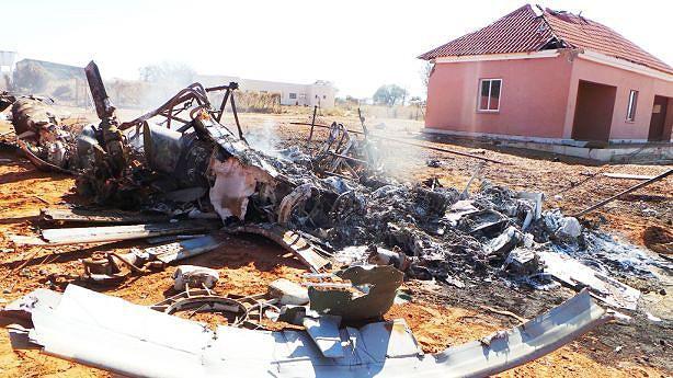 Helicóptero que transportava o material para as Assembleias de Voto ficou destruído