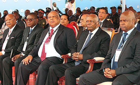 Momento da cerimónia de apresentação do Centro Integrado de Segurança