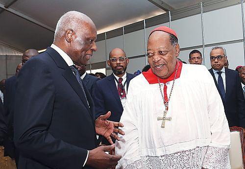 Presidente na homenagem a Dom Alexandre Cardeal do Nascimento