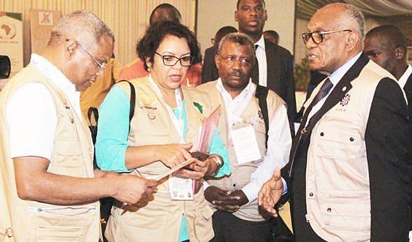 Diferentes missões de observação realizaram uma conferência de imprensa conjunta e elogiaram todo o trabalho