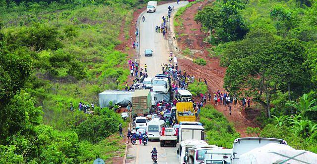 Trajecto Mbanza Congo - Luvu  gera inúmeros problemas