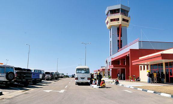 Reabilitação e ampliação do aeroporto 23 de Março