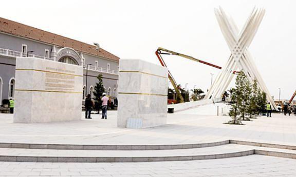 Monumento ao Soldado Desconhecido foi inaugurado ontem e é o novo