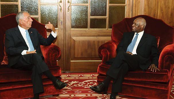 Marcelo Rebelo de Sousa foi o último Chefe de Estado a ser recebido no Palácio Presidencial da Cidade Alta pelo Presidente José  Eduardo dos Santos