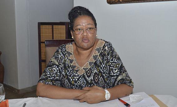 Coordenadora da comissão instaladora para o ensino particular em Menongue