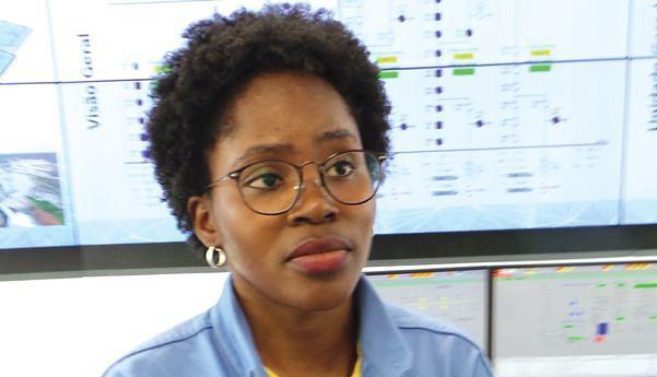 Engenheira  Beatriz João está satisfeita com o trabalho  que desenvolve no projecto