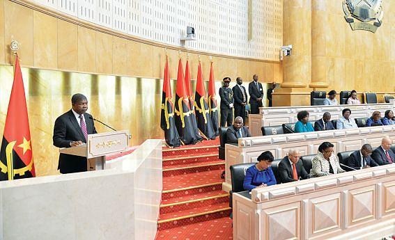 Chefe de Estado discursou na abertura do Ano Legislativo na Assembleia Nacional