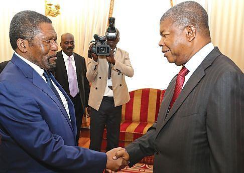 Primeiro encontro do Chefe de Estado, João Lourenço,  com o líder da UNITA, Isaías Samakuva