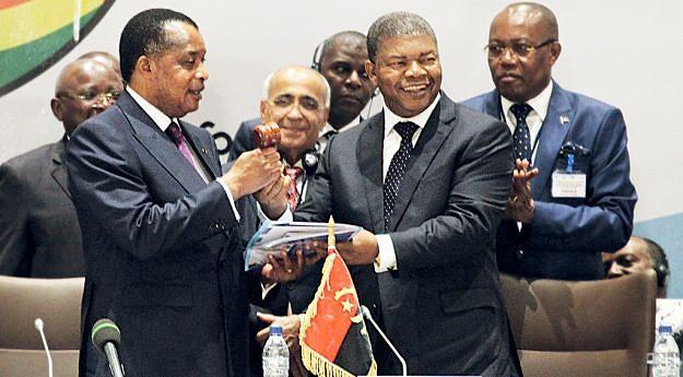 Presidente  João Lourenço  passa o testemunho  ao homólogo do Congo