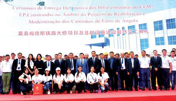 Cidadãos chineses participam  na entrega definitiva das infra-estruturas  dos CFM
