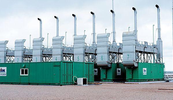 A central está equipada com sete geradores de 1.3 megawatts, dois dos quais estão avariados
