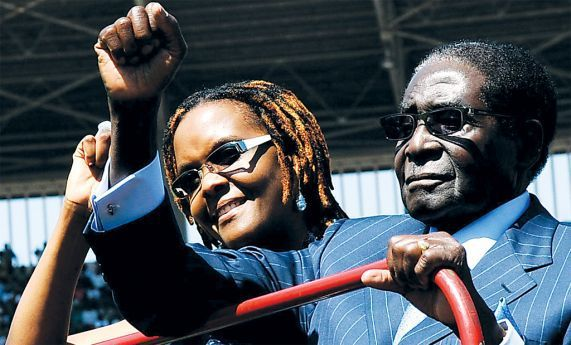 Presidente zimbabweano parecia apostar na esposa para o suceder no cargo