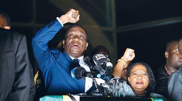 Mnangagwa tem como um dos desafios convencer os EUA e Bruxelas a levantarem as sanções que pesam sobre o Zimbabwe