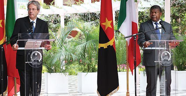Paolo Gentiloni afirmou que a primeira visita a Angola serviu para confirmar o apoio do Governo italiano ao novo Executivo angolano