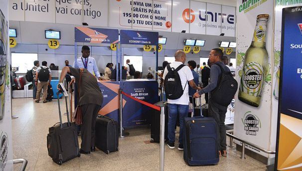Voo da South African Airways  teve lotação máxima