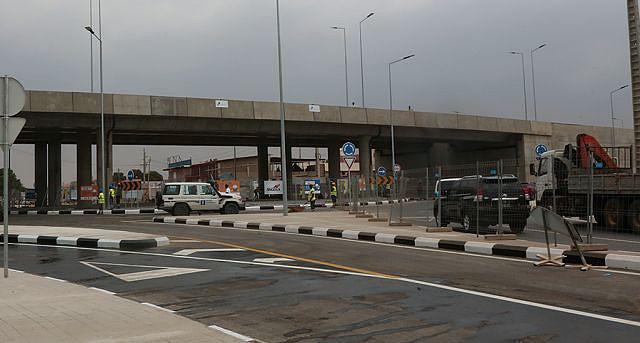 Depois de meses o viaduto é aberto hoje ao tráfego rodoviário