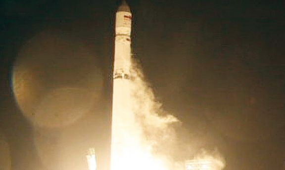 Momento em que o primeiro satélite angolano iniciava a trajectória para a órbita