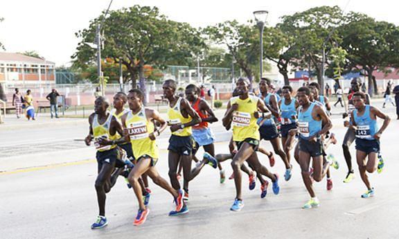 Corrida baixa de nível competitivo sem a presença de fundistas da Etiópia e do Quénia
