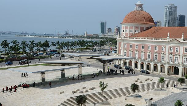 Vista parcial da cidade de Luanda