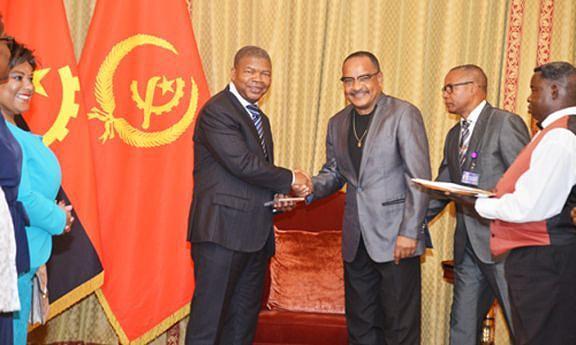 Presidente da República recebeu integrantes da Banda Maravilha
