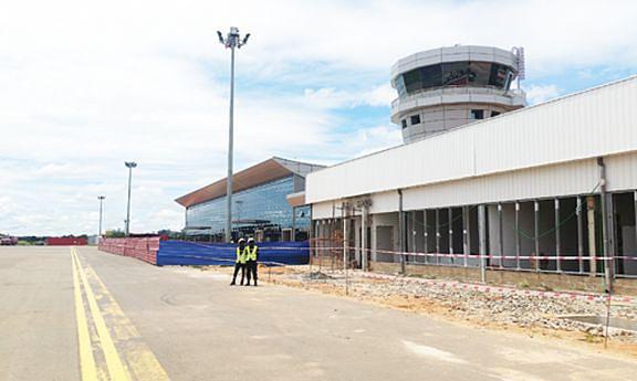 Terminal de passageiros do Aeroporto do Cuito tem um traçado arquitectónico moderno, com novas áreas de serviços