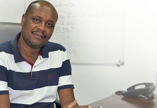Santiago Neto, empreiteiro da construção civil do Namibe