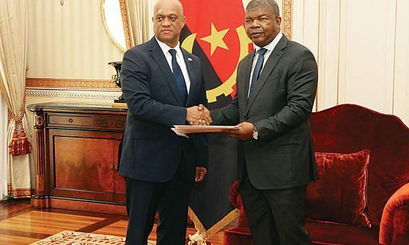 Ministro cabo-verdiano foi recebido pelo Chefe de Estado