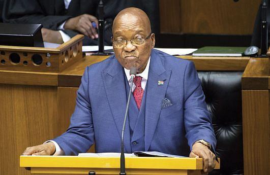 Presidente sul-africano Jacob Zuma  recebeu ultimato do ANC para abandonar  de forma  a evitar  afastamento