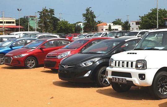 As vendas dos carros usados  não devem acompanhar a dinâmica do câmbio flutuante, porque são feitas em kwanzas