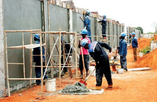 As obras na urbanização Zango 8000 prosseguem a bom ritmo