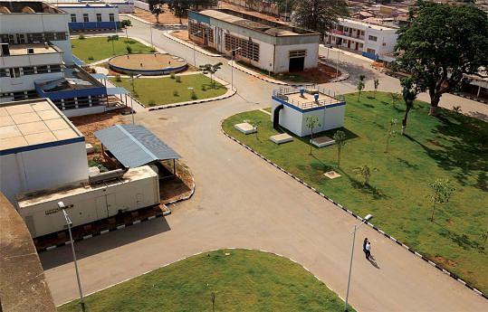 A construção, no Marçal, de uma moderna estação central de abastecimento de água potável trouxe melhorias notáveis para aos habitantes da capital