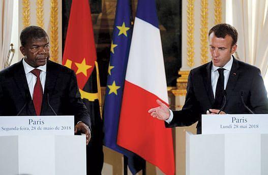 Os Presidentes João Lourenço e Emmanuel Macron definiram, em Paris, as bases para o fortalecimento das relações entre Angola e França
