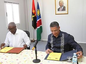 Angola e Namíbia rubricam acordo energético