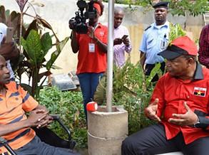 Cantor Sebem recebe apoio do MPLA