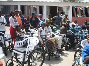 Minars reforça formação de pessoa com deficiência na Huíla