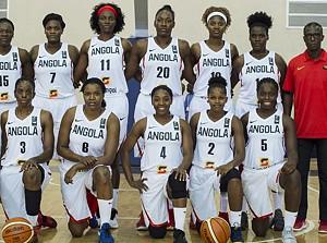 Selecção sénior feminina de basquetebol de Angola