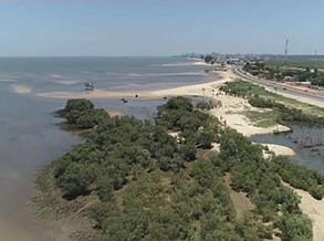 Subida do nível das águas ameaça costa moçambicana