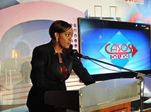 Analtina Dias, apresentadora do Casos da Vida