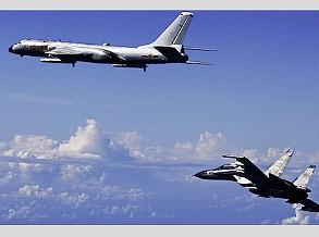 Bombardeiros nucleares da China são detectados mais uma vez cercando Taiwan