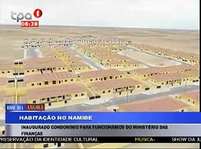 Ministro inaugura aldeamento no Namibe