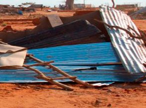 Chuva inunda 16 casas e uma igreja no Nzeto