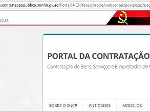 Governo lança portal para acabar com ilegalidades na contratação pública