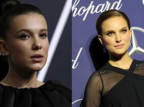 Natalie Portman comenta parecenças com Millie Bobby Brown