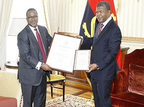 Chefe de Estado recebe certificados de mérito da FAO
