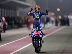 Maverick Viñales vence na estreia pela Yamaha